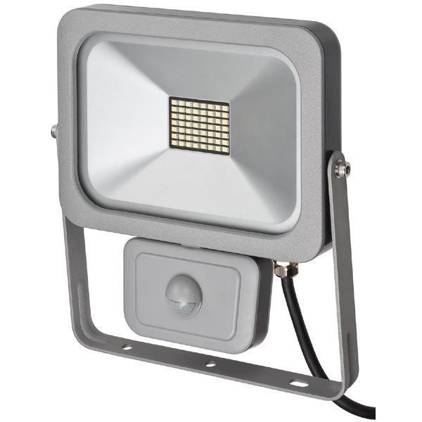 Boîtier orientable verticalement à 180° - Secteur de capture jusqu'à 90° - LED : 56 x 0,36 WPROJECTEUR EXTERIEUR