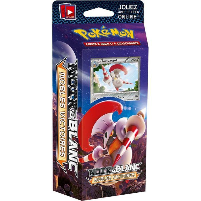 Pokemon starter noir blanc 3 nobles victoires achat vente carte a collectionner cdiscount - Pokemon legendaire blanc 2 ...