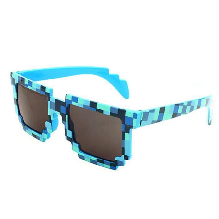 Vintage An de Mosaic de soleil 1092 lunettes Lunettes bleu unisexe BU soleil nouveauté Place pCxq5CRw