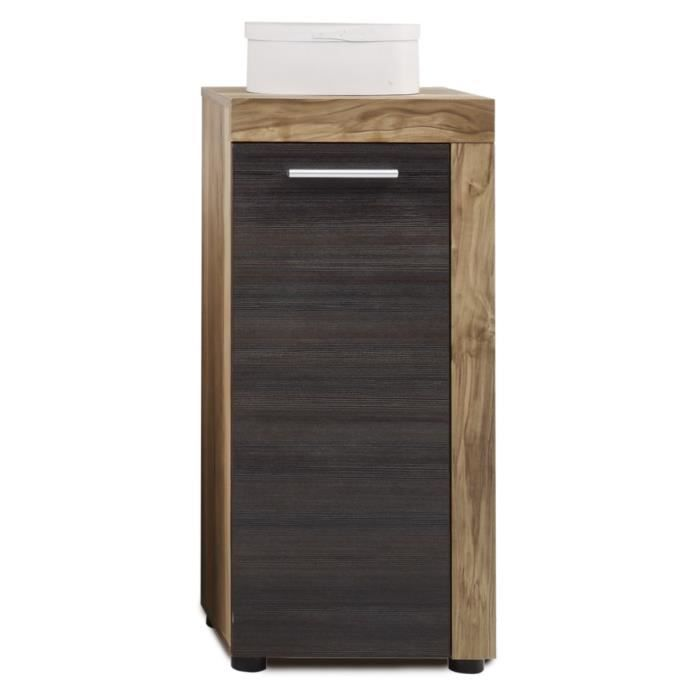 Meuble de rangement 1 porte pour salle de bain achat for Rangement pour petite salle de bain