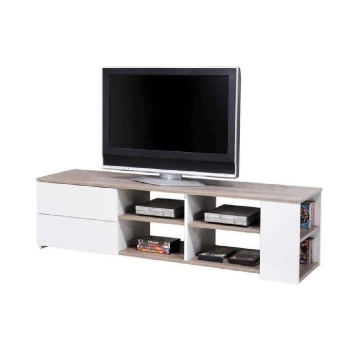 meuble tv 150 cm. Black Bedroom Furniture Sets. Home Design Ideas
