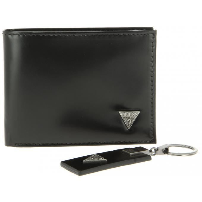 Coffret porte cartes new dressy cool guess maroquinerie noir - Achat ... 5846c0ca160