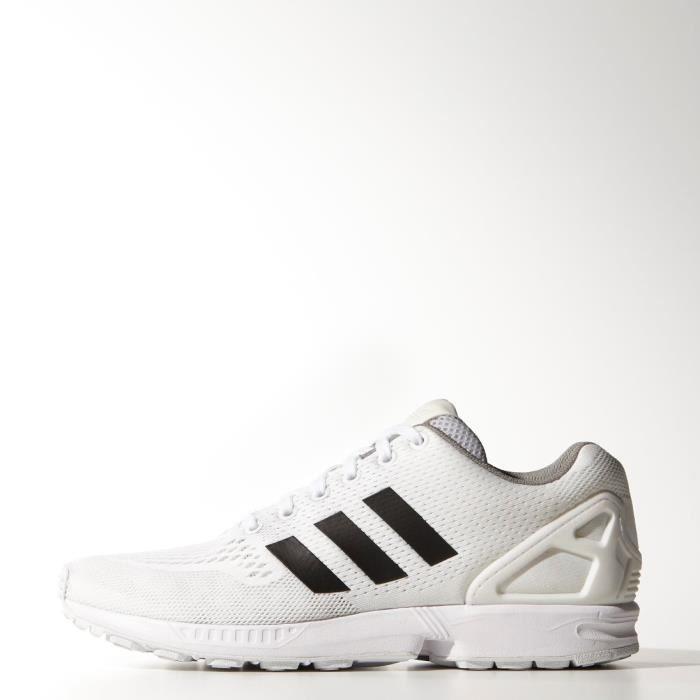 adidas zx flux noir avec bande blanche