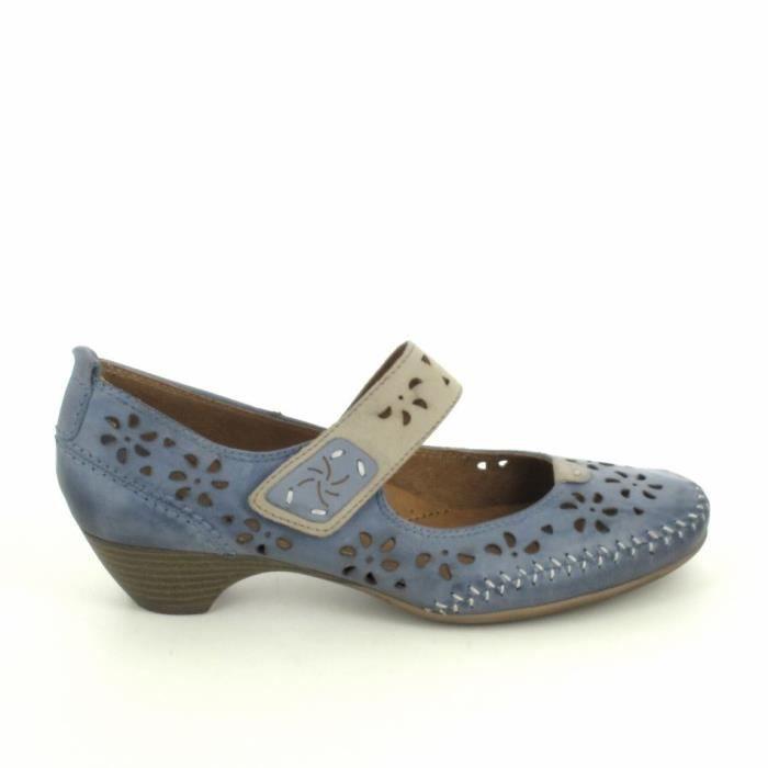 Chaussure de ville JANA Escarpin 24323 Bleu