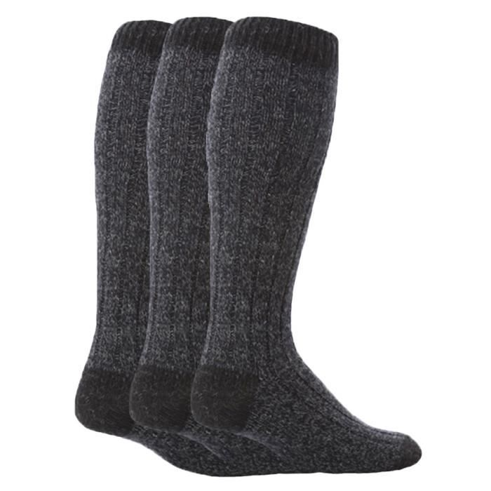 f04708395c7 ... laine chaussettes pour marcher. CHAUSSETTES Workforce - 3 paires homme  extra longues hautes la