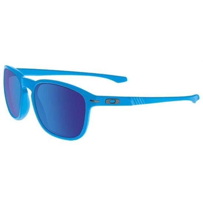lunette oakley bleue,OAKLEY Lunettes TURBINE Noir Verre Bleu Iridium ... fc143c05f3c3