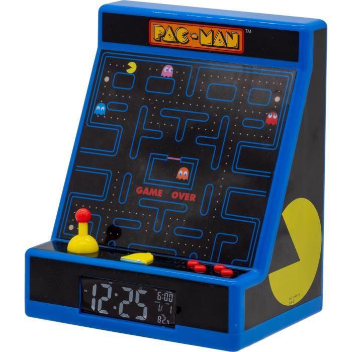 RÉVEIL ENFANT PACMAN Réveil Arcade - Bleu