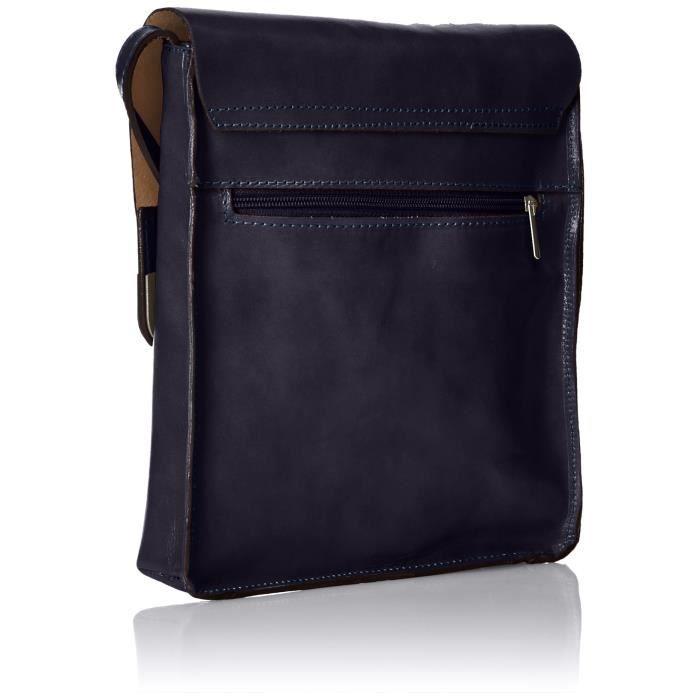 Ctm Messenger Bag Cross Body, 8,65 x10.25 x2.35 , 100% cuir véritable1FXT2H