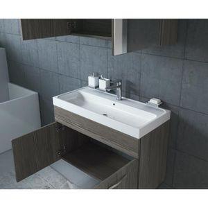 Meuble salle de bain sans vasque 80 cm achat vente meuble salle de bain sans vasque 80 cm - Meuble salle de bain 80 cm pas cher ...