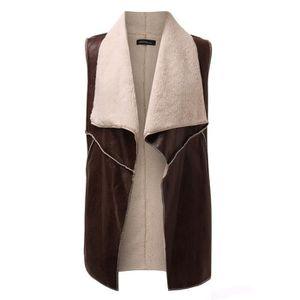 veste sans manche femme cuir achat vente veste sans manche femme cuir pas cher cdiscount. Black Bedroom Furniture Sets. Home Design Ideas