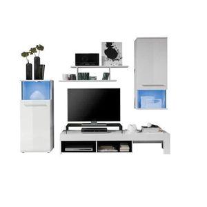 meuble tv achat vente meuble tv pas cher soldes d s le 10 janvier cdiscount. Black Bedroom Furniture Sets. Home Design Ideas