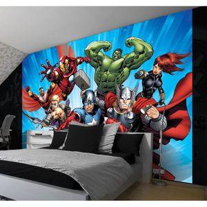 PAPIER PEINT Papier Peint Géant 368x254 cm Marvel Avengers avec