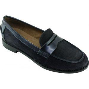 MOCASSIN HILUANNE - Mocassin Boy School chaussures pour Fem