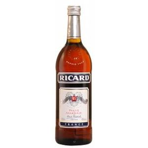 Apéritif anisé Bouteille de RICARD 45° 1 litre