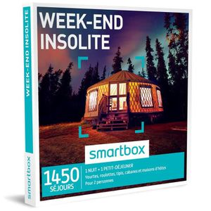 COFFRET SÉJOUR Coffret Cadeau - Week-end insolite - Smartbox
