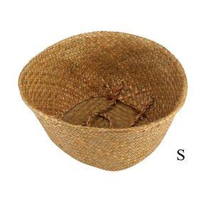 PANIER A LINGE Panier de ventre pliable Seagrass stockage panier