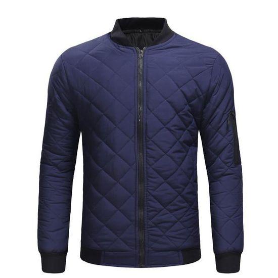 Hommes Rw2187 Fit Veste Chaud Chemisier Top vêtement Épais Casual Slim D'hiver Manteau gwFrqOPg