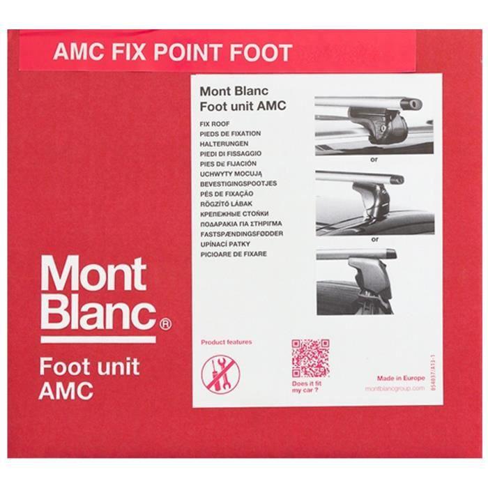 MONT BLANC AMC N°5003 Kit de Fixations Roof Foot pour Barres de Toit