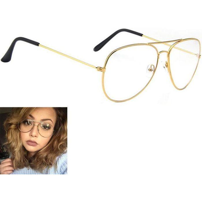 39b99733629 Monture lunette de vue homme en or - Achat   Vente pas cher