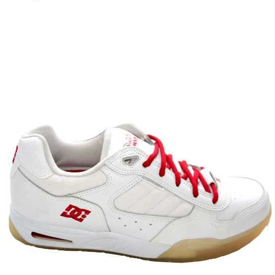 DC SHOES Reign White True Red