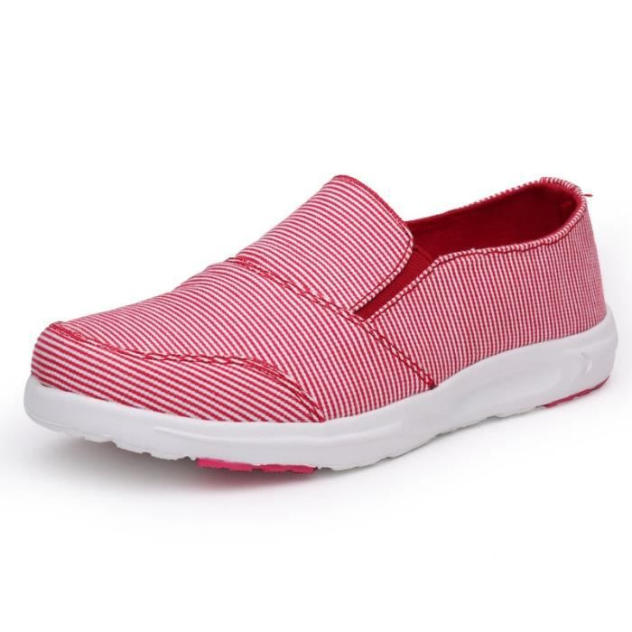 Chaussures printemps rouges Casual femme chLFx7f
