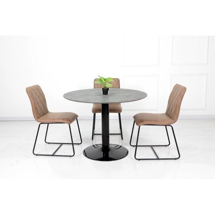 Table salle a manger avec pied central achat vente pas - Table de salle a manger carree avec pied central ...