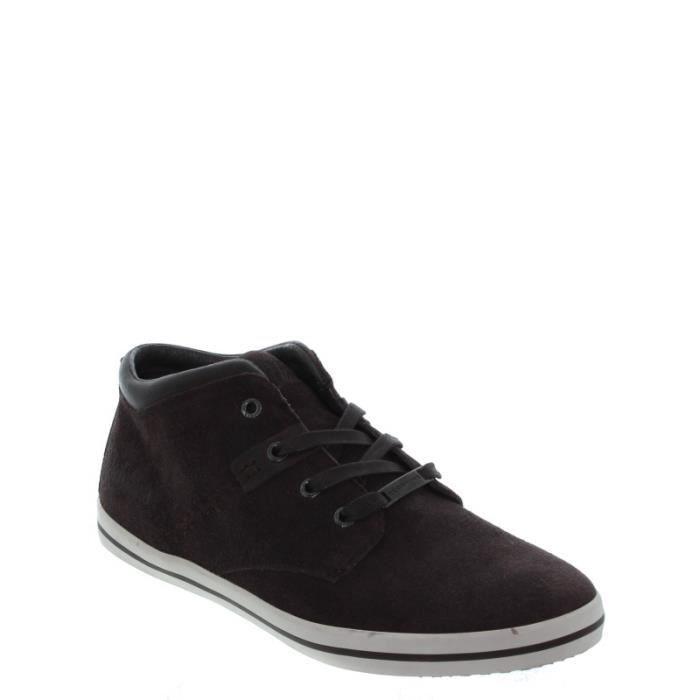 De En Ref Cuir Ville cle33192 Marron Velours Chaussures qLUzGSpMV