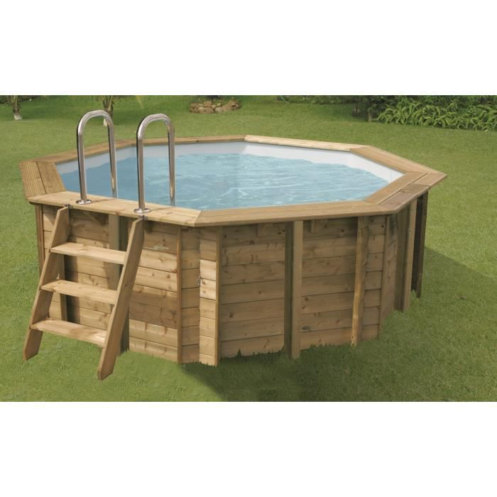 ubbink piscine octogonale en bois sunwater 360xh120 cm. Black Bedroom Furniture Sets. Home Design Ideas