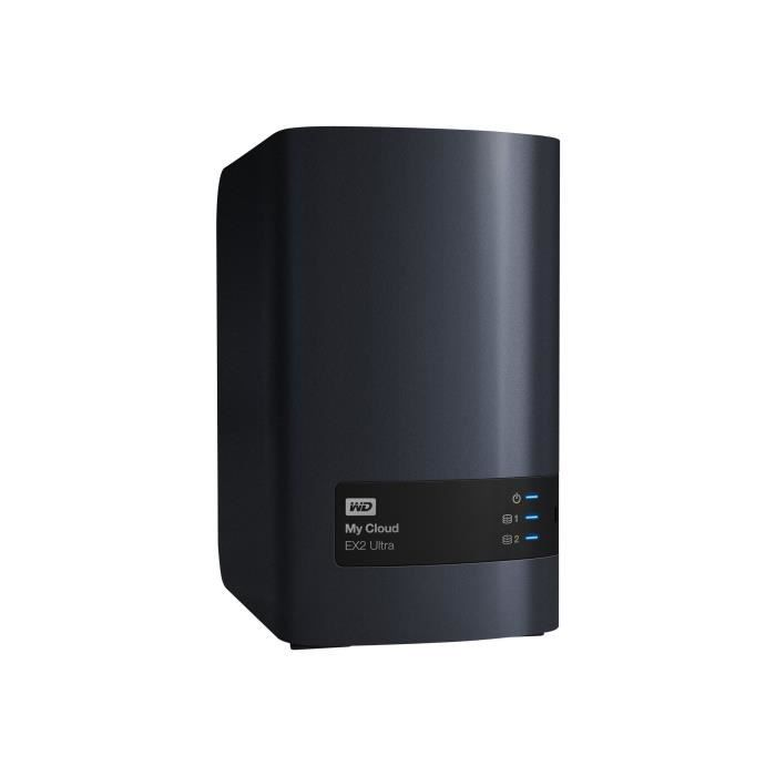 SERVEUR STOCKAGE - NAS  WESTERN DIGITAL My Cloud EX2 Ultra - 20To - Charco