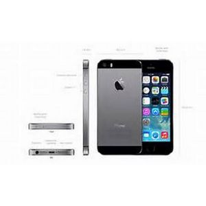 SMARTPHONE APPLE iPhone 5S Gris sidéral 64Go