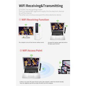 CARTE RÉSEAU  600 Mbps double bande 2,4 - 5 GHz sans fil carte r