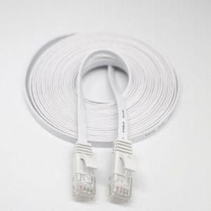 CÂBLE RÉSEAU  5 m RJ45 CAT6 Ethernet réseau LAN câble plat UTP r