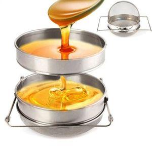 MATÉRIEL SYSTÈME NICOT Filtre de miel Acier inoxydable Double Tamis Passo