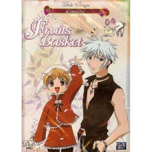 DVD DESSIN ANIMÉ FRUITS BASKET 04 - EPISODES 13 à 16 DECLIC IMAGES