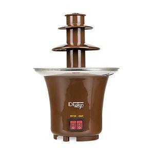 FONTAINE A CHOCOLAT Fontaine Électrique à Chocolat Fondu 65W, 22x15x15