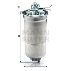 FILTRE A CARBURANT MANN FILTER Filtre à carburant WK853/3X