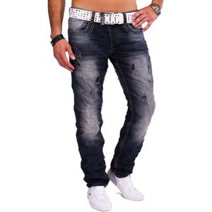 JEANS Jeans Hommes détruits Jeansnet Denim Tapered Fit V