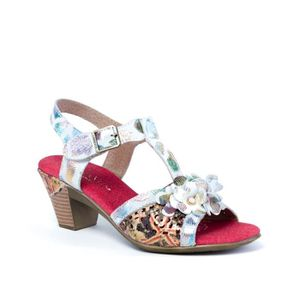 SANDALE - NU-PIEDS Bettino Rouge (Rouge - 36)