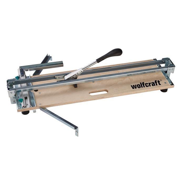 WOLFCRAFT Coupe-carrelage TC 710 PW sur plaque en bois