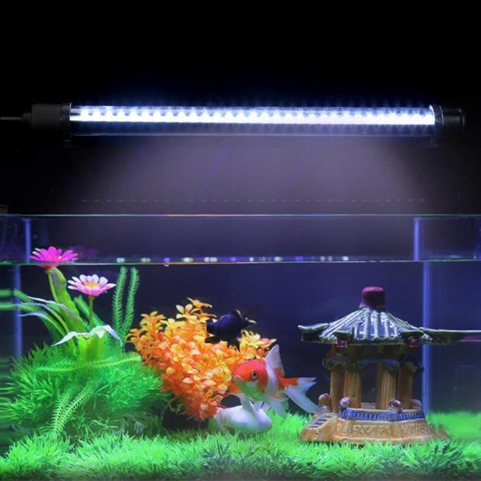 30 Led Lampe Aquarium Poissons Lumières Récif Éclairage Décoration Blanche