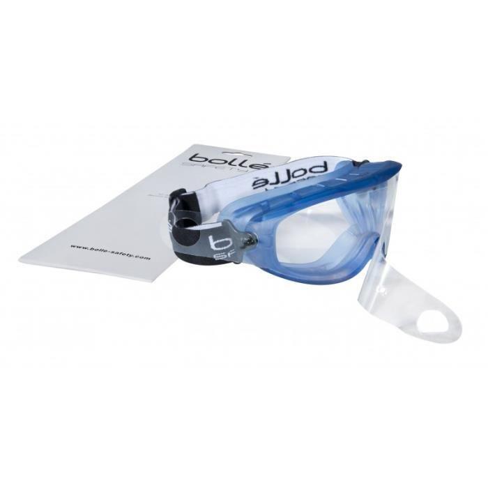 LUNETTE - VISIÈRE CHANTIER Set de 5 films protecteurs pour lunettes masque  AT 344dee5f1b31