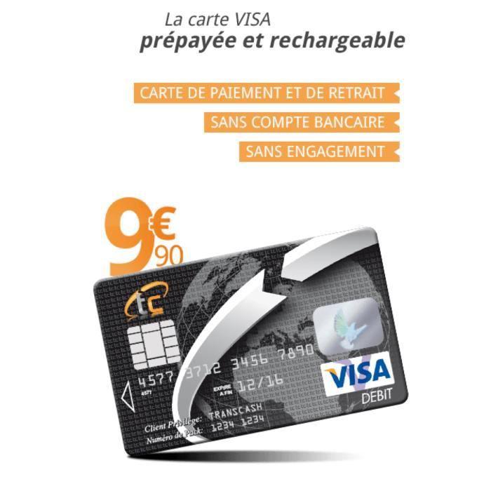 Carte Bancaire Prepayee Rechargeable.Carte Bancaire Prepayee Transcash Achat Vente Radio Cb