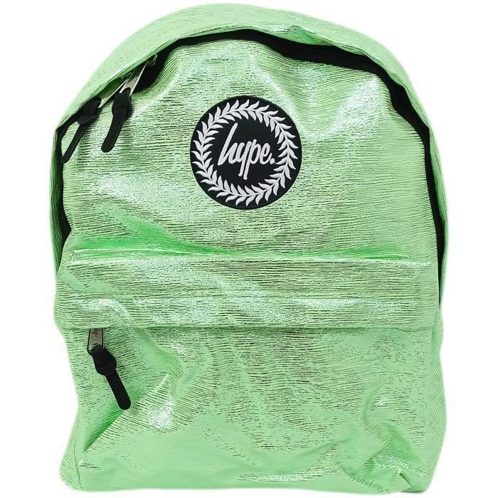 Sac à dos sac de papier mince rayure - Slime clinquant de hype