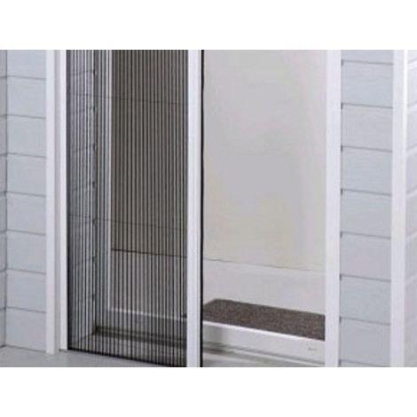 moustiquaire pliss e lat rale et r tractable mo achat vente moustiquaire ouverture toile. Black Bedroom Furniture Sets. Home Design Ideas