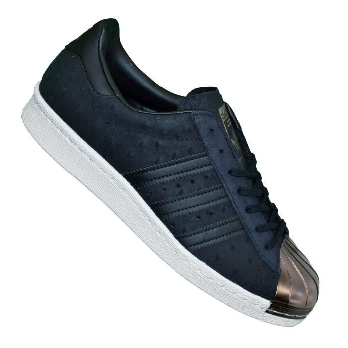 Adidas Originals - Baskets - Superstar Foundation 80'S Metal Toe S76712 - Noir Bronze
