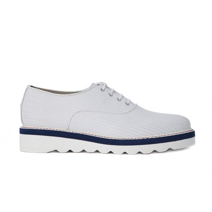 Chaussures Tommy Hilfiger Pelle White