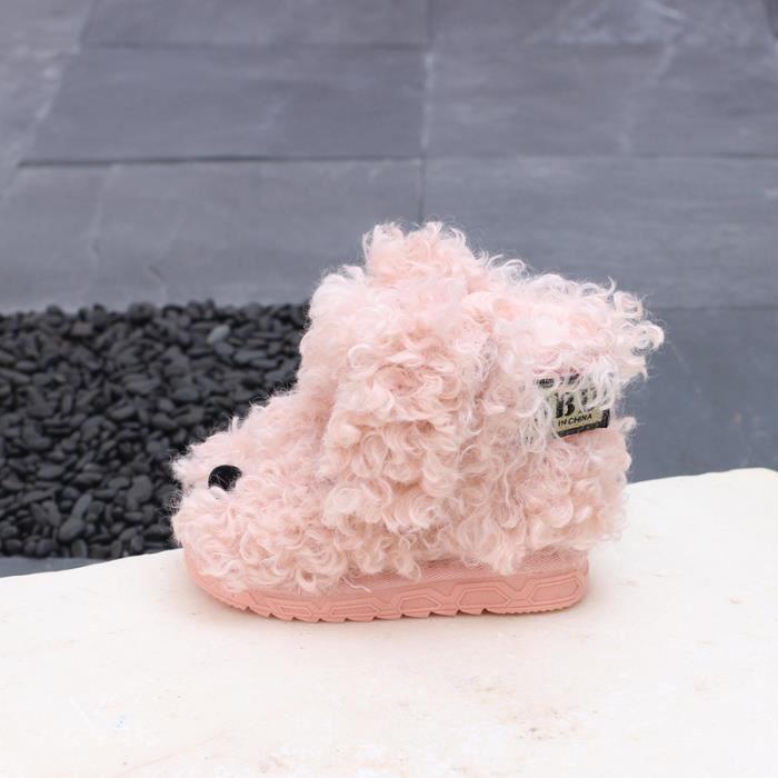Enfants Chaussures bottine Bébé Garçon filles Bottes de coton N9eFrkllk