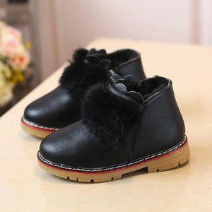 Enfants Chaud Garçons Filles Martin Sneaker Bottes Enfants Bébé Casual Chaussures rouge2LAO-458 JlPN9bZqO