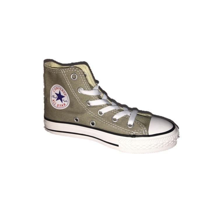 Converse All Star Chuck Taylor Hi vieil argent