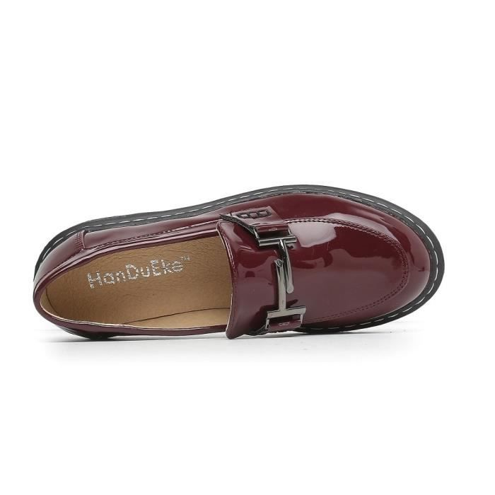 Penny Plate-forme Mocassins Comfort Slip On Chaussures habillées XFKB0 Taille-40 1-2